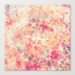 Acid Camouflage Canvas Print