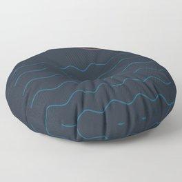 La Mer (Nuit) Seascape Floor Pillow