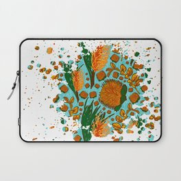 Australian Native Floral Graphic Print Laptop Sleeve