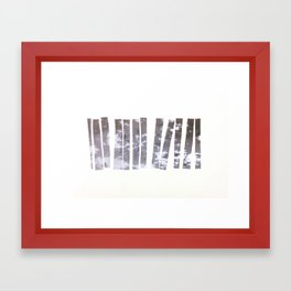 Sidewalk Fragments 1 Framed Art Print