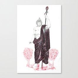 Dionysus: Bacchus of the Vine  Canvas Print