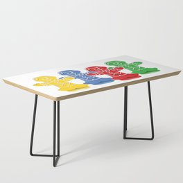 Candy Board Game Figures Coffee Table