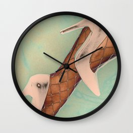 Kick Up Your Heels Wall Clock