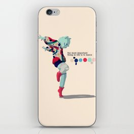 I'll dance all my life iPhone Skin