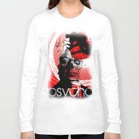 psycho Long Sleeve T-shirts featuring psycho by RIGOLEONART