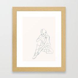 Contemplate Framed Art Print