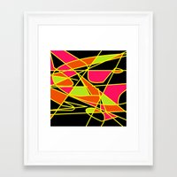 deco Framed Art Prints featuring DECO by ....