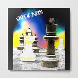 Chess Check Mate Metal Print