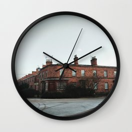 Traditional British architecture in Derbyshire Wall Clock