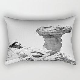 Camel Rock and Hump NM  Rectangular Pillow