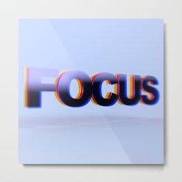 FOCUS Metal Print