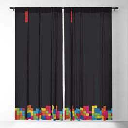 Tetris Blackout Curtain