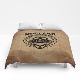 Nuclear Tomorrow vintage Comforters