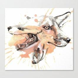 Foxxx Canvas Print