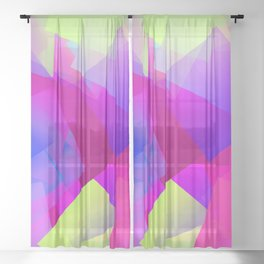 Moodier April ... Sheer Curtain