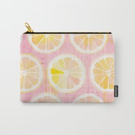 Orange Slices Pastel Fruit Carry-All Pouch