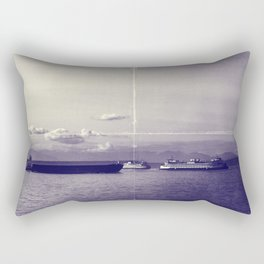 Vintage Elliot Bay Rectangular Pillow