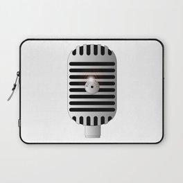 Classic Microphone Laptop Sleeve
