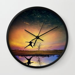 The Magic Of Your Smile  Wall Clock