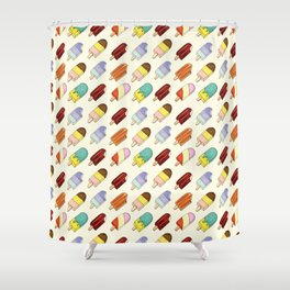 Meet me at the ice cream truck Shower Curtain