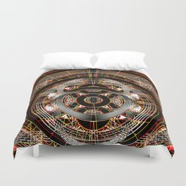 The Resonant Frequencies of Hell Duvet Cover