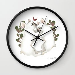 Piggy & Polly Wall Clock