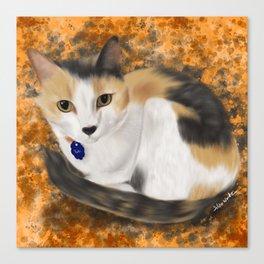 Sweet Calico Canvas Print