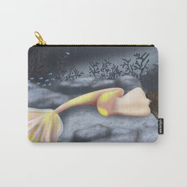 Sleeping Mermaid Carry-All Pouch