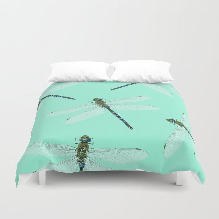Dragonfly pattern Duvet Cover