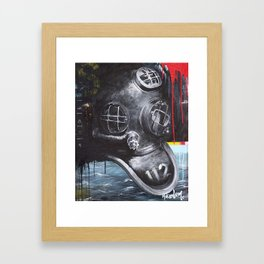 Jonah 1:12 Framed Art Print