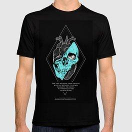 Aleksandr Solzhenitsyn Quote - The Line Between Good and Evil T-shirt