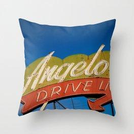 Angelos Throw Pillow