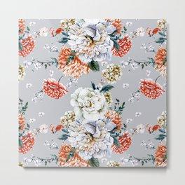 Blooming Flowers I Metal Print