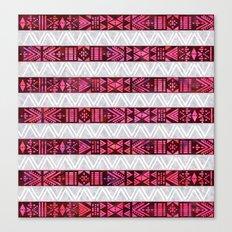 Tribal America {STRIPES} Canvas Print