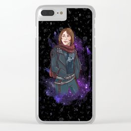 Jyn Erso Clear iPhone Case