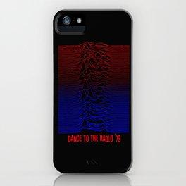Dance To The Radio iPhone Case