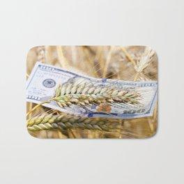 Golden wheat Bath Mat