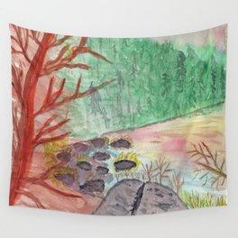 The Cove at Wallum Lake Wall Tapestry
