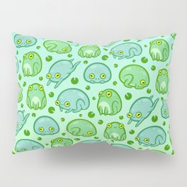 Friendly Frogs Pillow Sham