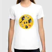 sport T-shirts featuring Sport equipment by Irmirx