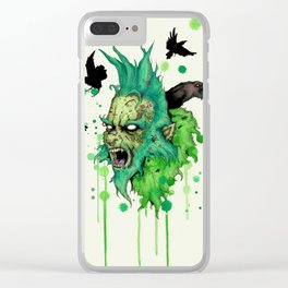 You're A Mean One Clear iPhone Case