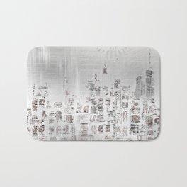 MODERN ART New York City Skylines Bath Mat
