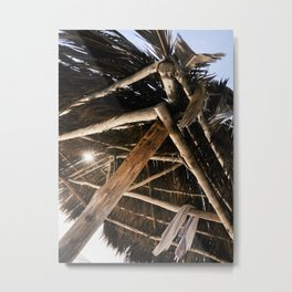Shelter in Windansea Metal Print