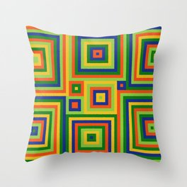 Be Squared! II Throw Pillow