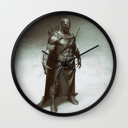 Evil bat 2 Wall Clock