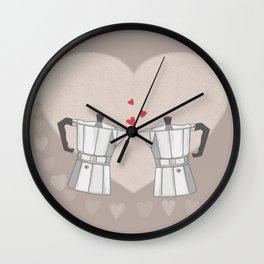 Love Moka Wall Clock