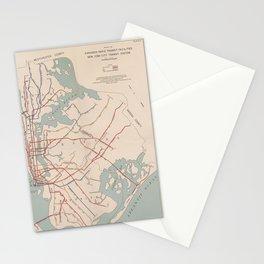 New York City Transit System Vintage Stationery Cards
