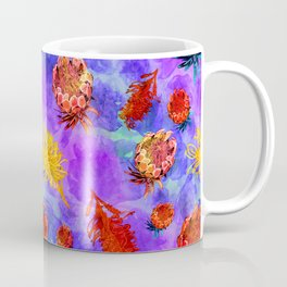 Colourful Australian Native Floral Print Coffee Mug