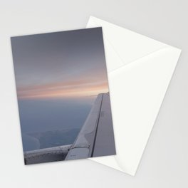 The Setting Sun Flight Stationery Cards