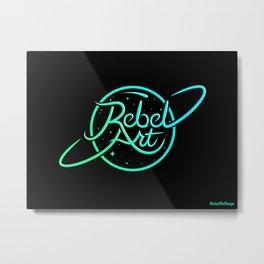 Rebel Art Logo Metal Print